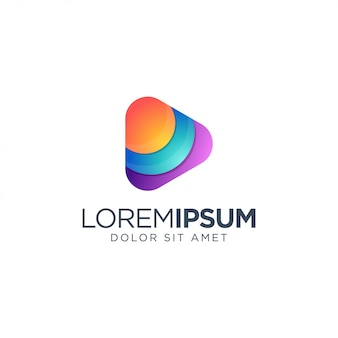 Création de logo média