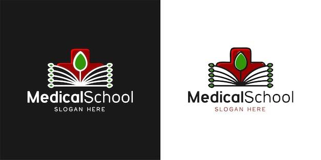 Création de logo médical et feuille