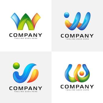 Création de logo moderne abstrait