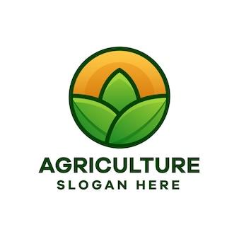 Création de logo moderne pour l'agriculture
