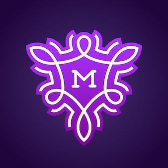 Création de logo monogramme.