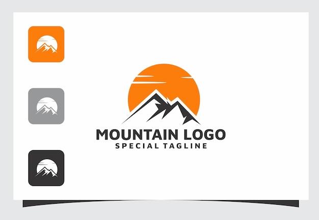 Création de logo de montagne
