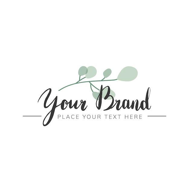 Création de logo naturel