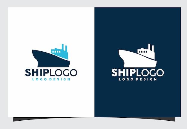 Création de logo de navire
