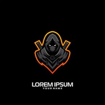 Création de logo ninja