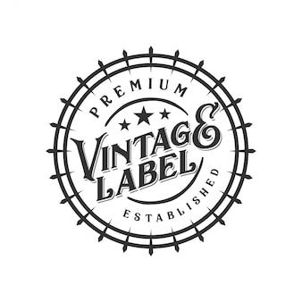Création de logo de nourriture et de boissons pour l'étiquette de la marque
