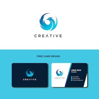 Création de logo d'oiseau magnifique