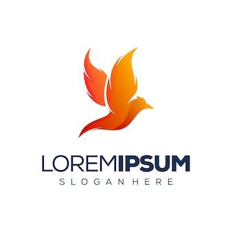 Création de logo oiseau