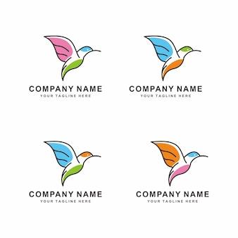 Création de logo d'oiseau