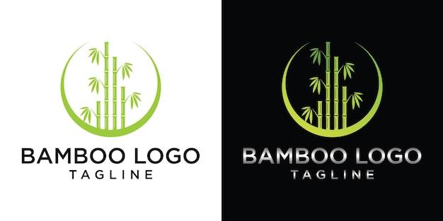 Création de logo oriental chinois ou japonais en herbe de bambou