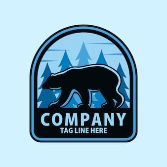 Création de logo ours