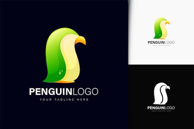 Création de logo de pingouin avec dégradé