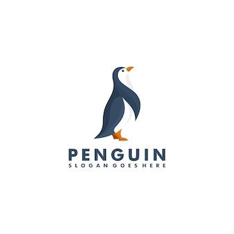 Création de logo de pingouin