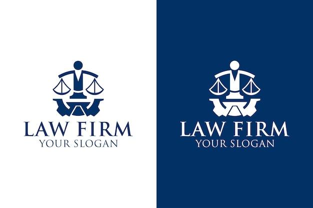 Création de logo pour l'éducation du cabinet d'avocats