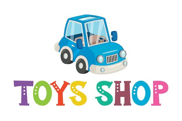 Création de logo pour jouets pour enfants