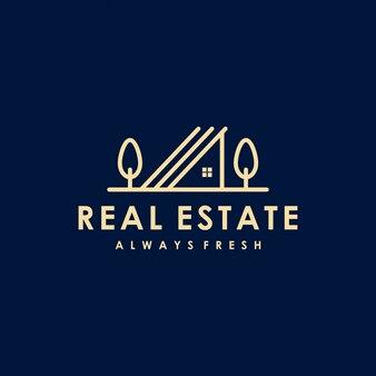 Création de logo premium immobilier