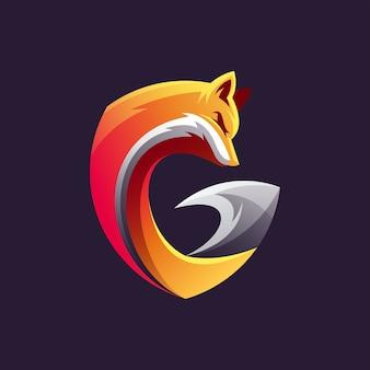 Création de logo de renard