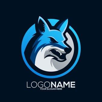 Création de logo de renards