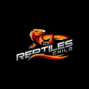 Création de logo de reptiles pour modèle