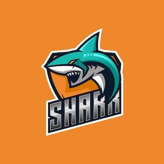 Création de logo de requin