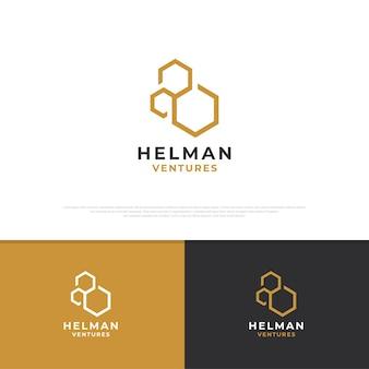 Création de logo de ruche d'art en ligne