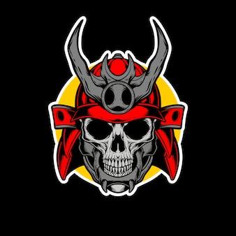 Création de logo de samouraï