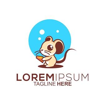 Création de logo de souris mignon