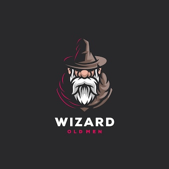 Création de logo de sports de jeu wizard