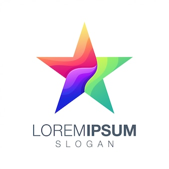 Création de logo star collection