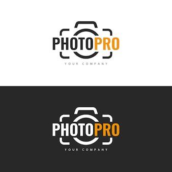 Création de logo de studio photo