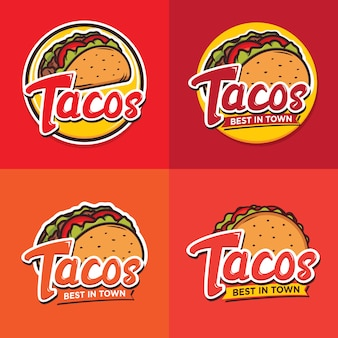 Création de logo tacos