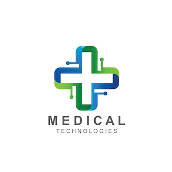 Création de logo de technologie médicale