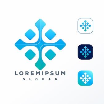 Création de logo de technologie