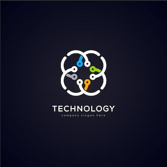 Création de logo technologique