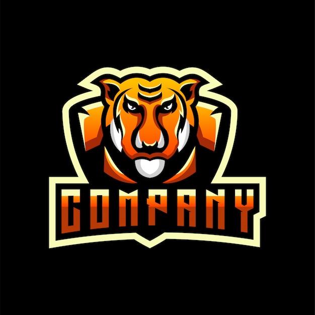 Création de logo tigre