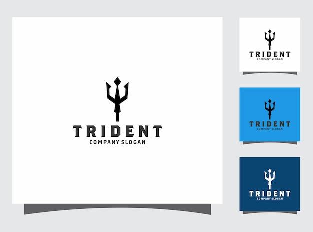 Création de logo trident
