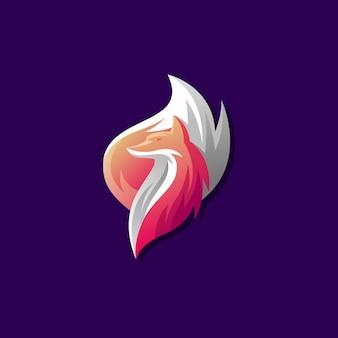 Création de logo vectoriel fox