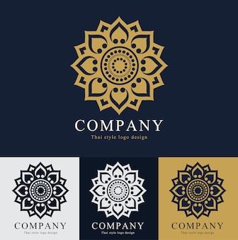 Création de logo vectoriel thaïlande
