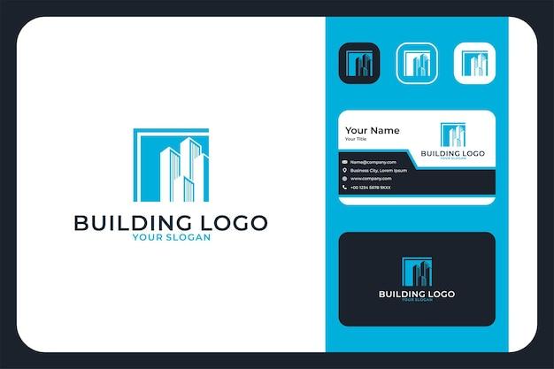 Création de logo de ville et carte de visite