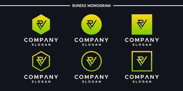 Création de logo vp initiales
