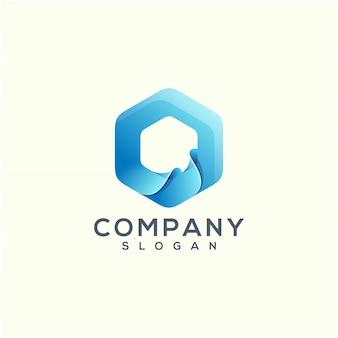 Création de logo wave