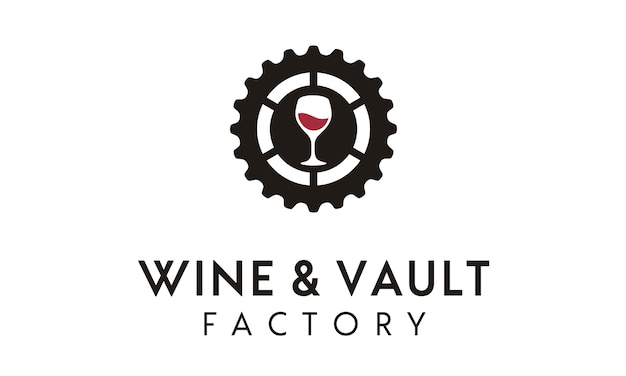 Création de logo wine vault / factory
