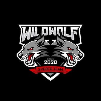 Création de logo wolf e-sports