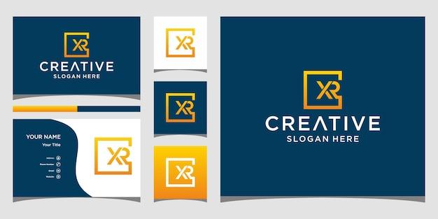 Création de logo xr