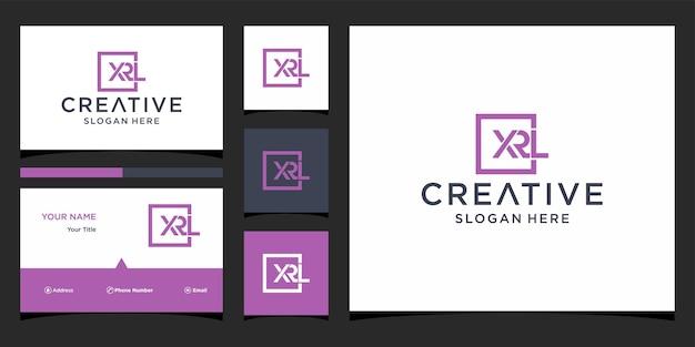 Création de logo xrl