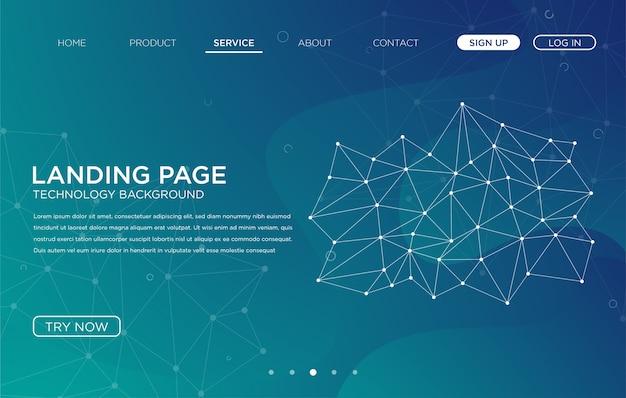Création de modèle de fond pour le site web