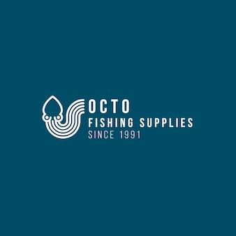 Création de modèle de logo de poulpe