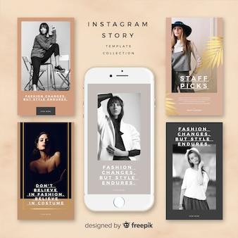 Création de modèles d'histoires instagram