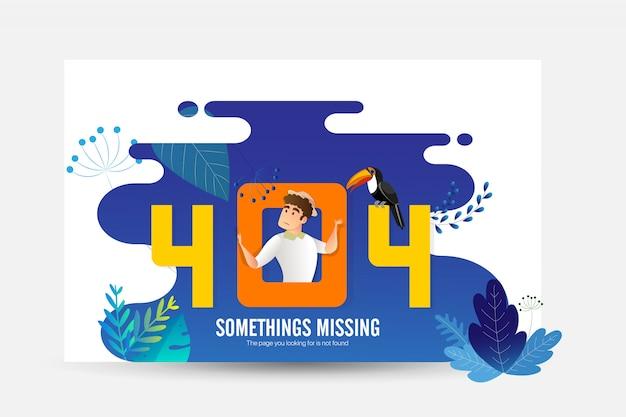 Creative 404 landing page