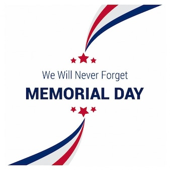 Creative memorial day background